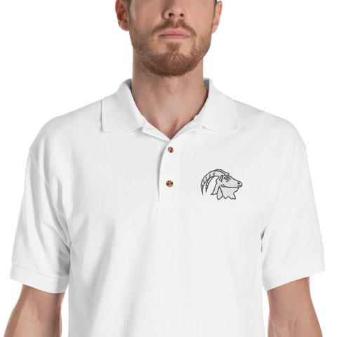 Capra82 Embroidered polo