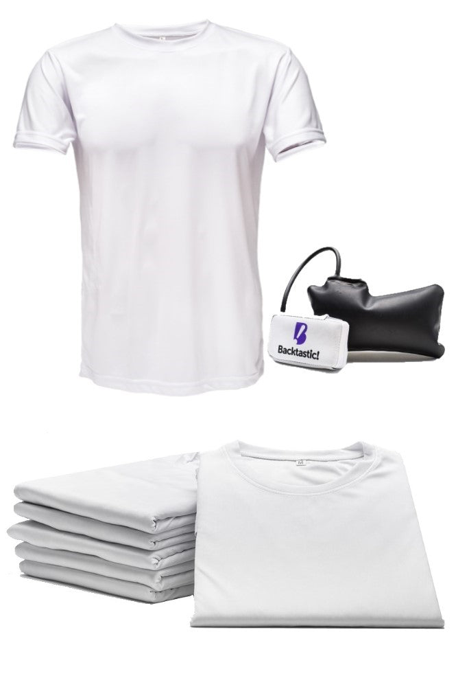 7-Pack Tee White (with Powered LumbarAir™ Support Unit)