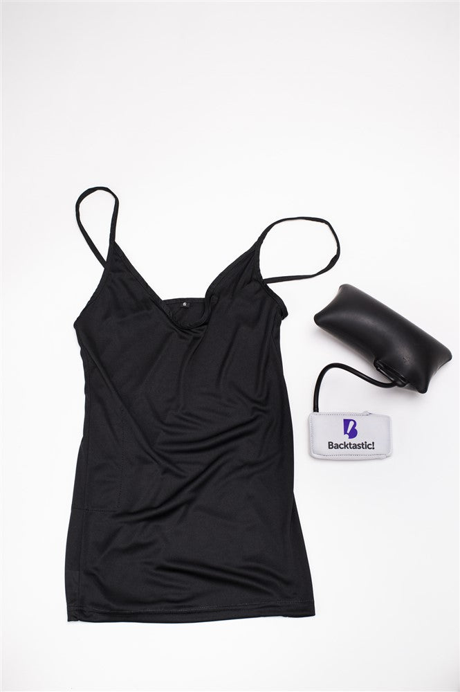 7-Pack Cami Black (with Powered LumbarAir™ Support Unit)