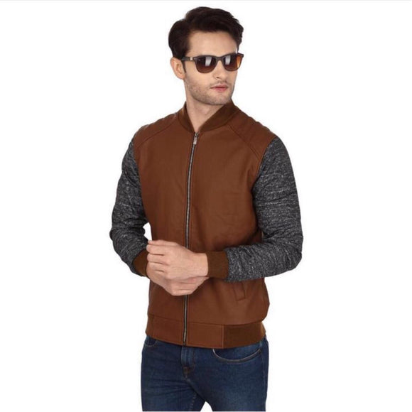 Tmbi- Winter jacket plain brown