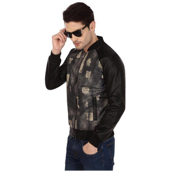 Tmbi - WINTER JACKET milartry print black
