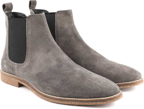 Tmbi Chelsea Boots Suede Leather - tmbi