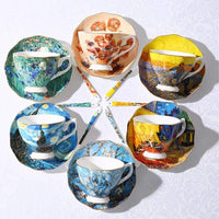 Van Gogh Painting Tea Cup Sets -Other- Latest Aesthetics - [collection_title]