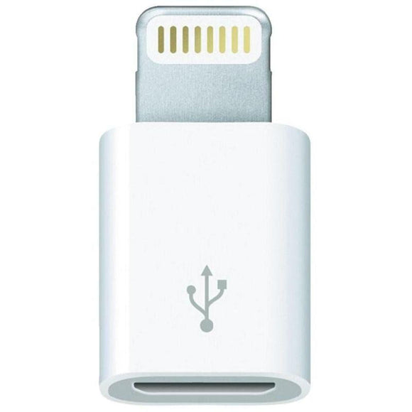 ADAPTADOR MICRO USB A LIGHTNING 3GO A200 - DE MICRO USB HEMBRA A LIGHTNING MACHO - 8 PIN - COLOR BLANCO - JSVnet
