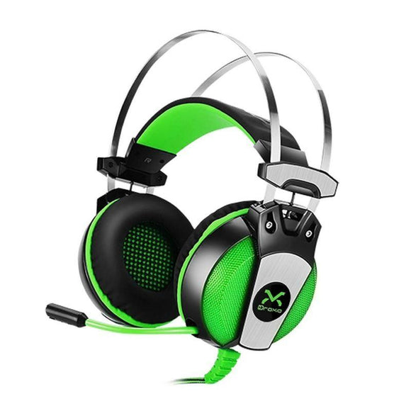 AURICULARES GAMING 3GO DROXIO HADLOK - DRIVERS 50MM - 108DB - 20HZ-20KHZ - MICRÓFONO RETRACTIL - CABLE 2.2M - USB+2X3.5MM - JSVnet