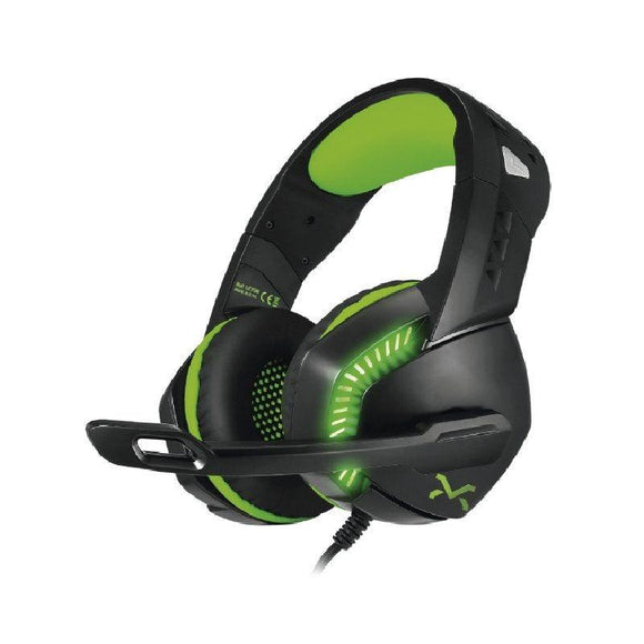 AURICULARES GAMING 3GO DROXIO LEYON - DRIVERS 50MM - 105DB - 20HZ-20HZ - MICRÓFONO OMNIDIRECCIONAL - CABLE 2.1M - USB+3.5MM - JSVnet