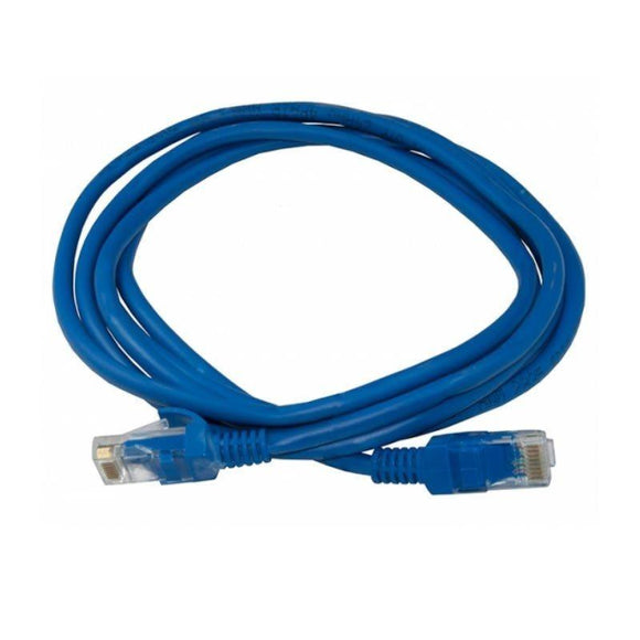 LATIGUILLO DE RED 3GO CPATCH - RJ-45 - CATEGORIA 5 - 0.5 METROS - COLOR AZUL - JSVnet