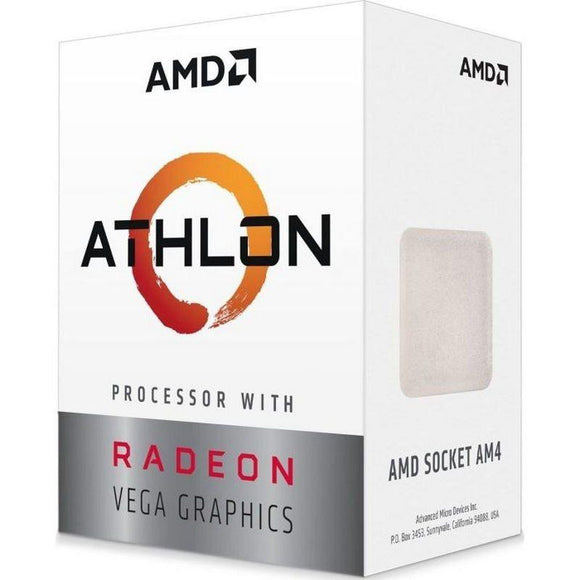 PROCESADOR AMD ATHLON 200GE - 3.2GHZ - SOCKET AM4 - GRÁFICA INTEGRADA RADEON VEGA 3 - JSVnet