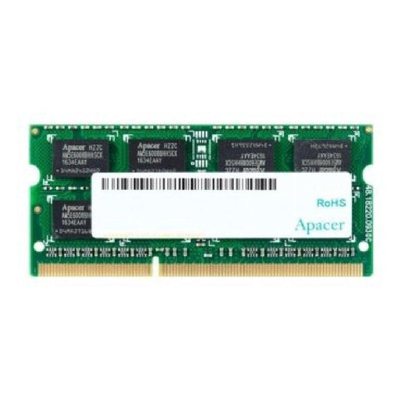 MEMORIA APACER DS.04G2K.HAM 4GB - DDR3 SODIMM - 1600MHZ - 204 PIN - CL 11 - JSVnet