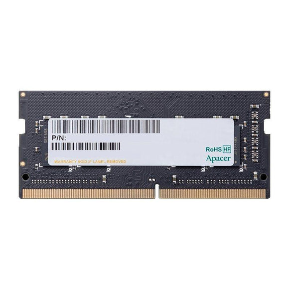 MEMORIA APACER ES.04G2R.LDH - 4GB - DDR4 SODIMM - 2133MHZ - 260 PIN - CL15 - JSVnet