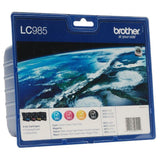 CARTUCHO TINTA BROTHER LC-985 VALUE PACK NEGRO/COLOR - JSVnet