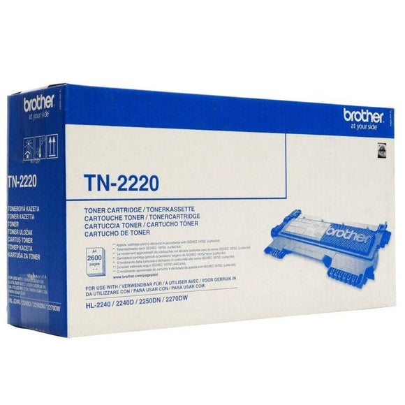 TONER BROTHER TN-2220 2600 PÁGINAS NEGRO - JSVnet