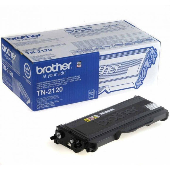 TONER BROTHER TN-2120 2500 PÁGINAS NEGRO - JSVnet