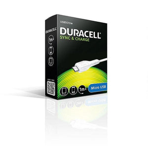 CABLE DURACELL USB MACHO A MICRO USB -1 METRO - BLANCO - JSVnet