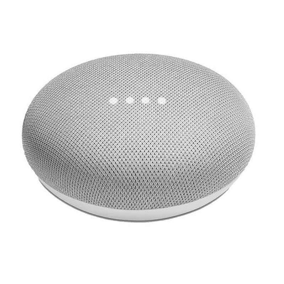 ALTAVOZ INTELIGENTE GOOGLE HOME MINI TIZA - MICROFONO INTEGRADO - WIFI BGN/AC - BT - 5V/1.8A - COMPATIBLE ANDROID/IOS - JSVnet