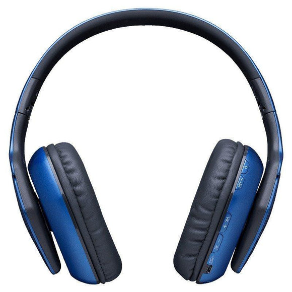 AURICULARES INALAMBRICOS HIDITEC COOL BLUE - BT 4.1 - ALTAVOCES 40MM - 15Hz-20KHz - 32OHM - MICROFONO INTEGRADO - BAT 400mAh - JSVnet