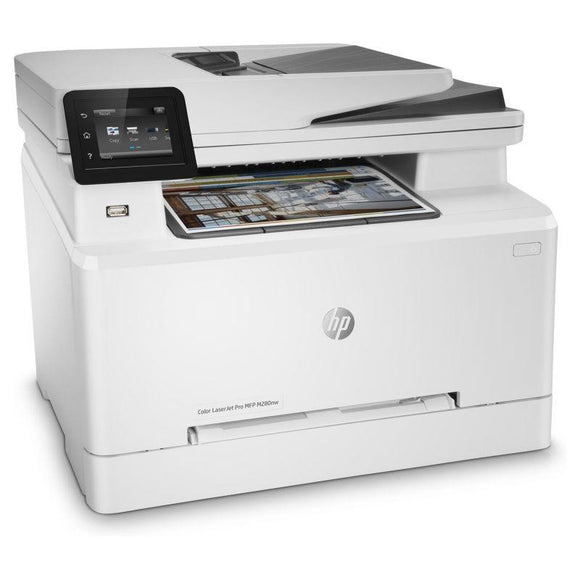 MULTIFUNCIÓN HP WIFI LÁSER COLOR PRO M280NW - 38/21PPM - SCAN 1200X1200PPP - ETHERNET - ADF - AIRPRINT - TONER CF5000/01/02/03 CF540/41/42/43 - JSVnet