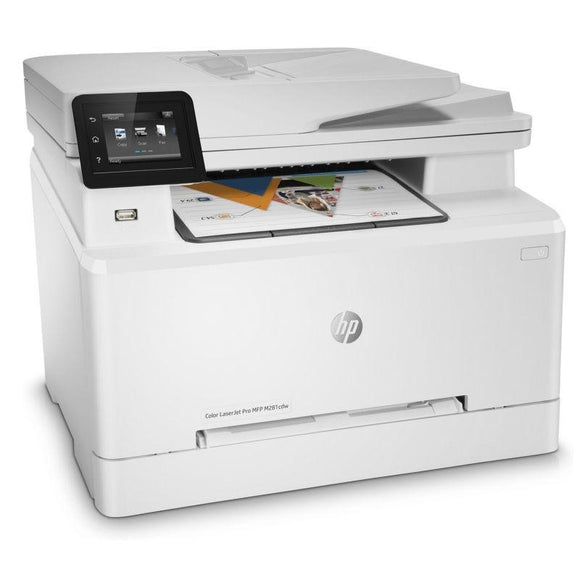 MULTIFUNCIÓN HP WIFI CON FAX LASERJET PRO M281FDW - 22/22PPM - DUPLEX - SCAN 27PPM - ADF - USB - RED - EPRINT - HP SMART - TONERS 202/203 - JSVnet