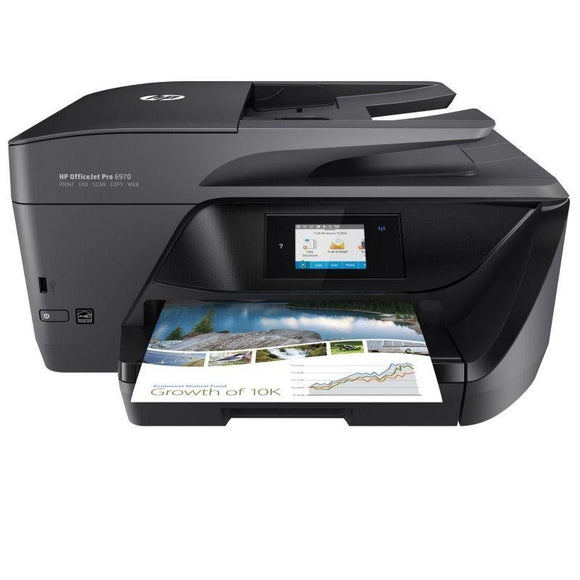 MULTIFUNCIÓN HP WIFI CON FAX OFFICEJET PRO 6970 - 30/26 PPM - DUPLEX - PANTALLA TÁCTIL - SCAN DOBLE CARA - ADF - LAN - EPRINT/AIRPRINT-CART 903/907XL. - JSVnet