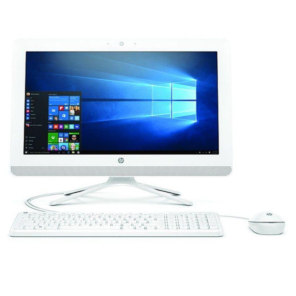 PC ALL IN ONE HP 20-C409NS - AMD A4-9125 2.3GHZ - 4GB - 1TB - RAD R3 - 19.5'/49.5CM FHD - WIFI - HDMI - BT - TEC+RATON - NO ODD - W10 - BLANCO NIEVE - JSVnet