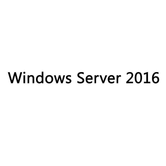 HPE WINDOWS SERVER 2016 STANDARD ROK ES P00487-071 - 16 CORES - JSVnet