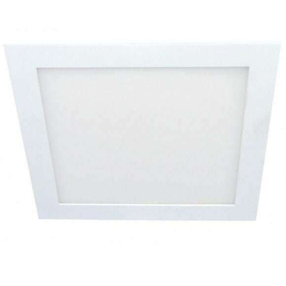 DOWNLIGHT EXTRAFINO EMPOTRABLE CUADRADO LS-102213-FB - 13W - 6000ºK - BLANCO - 1130 LUMENES - 170*170*19 MM - JSVnet