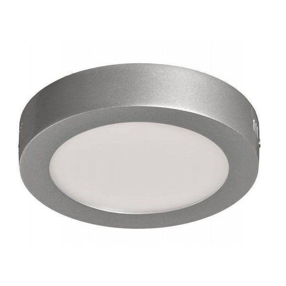 DOWNLIGHT SUPERFICIE CIRCULAR - SUP-102307-FP - 7W - 6000ºK - PLATA- 570 LUMENES - Ø120X35 MM - JSVnet