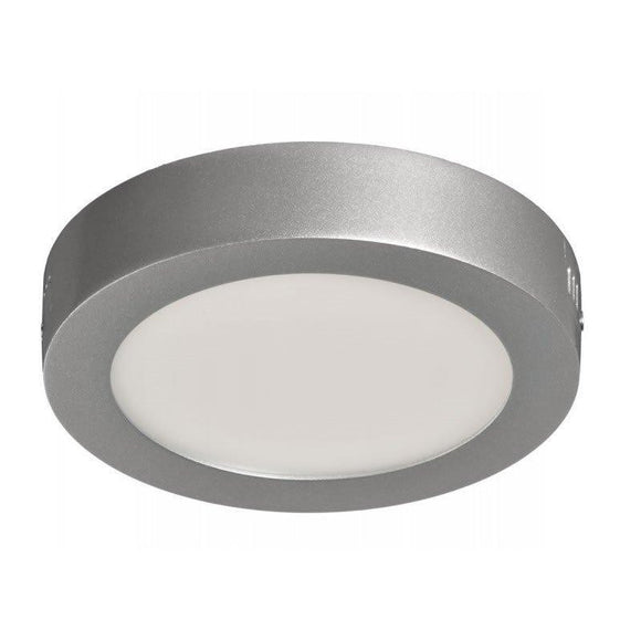 DOWNLIGHT SUPERFICIE CIRCULAR - SUP-102307-NP - 7W - 4000ºK - PLATA - 540 LUMENES - Ø120X35 MM - JSVnet