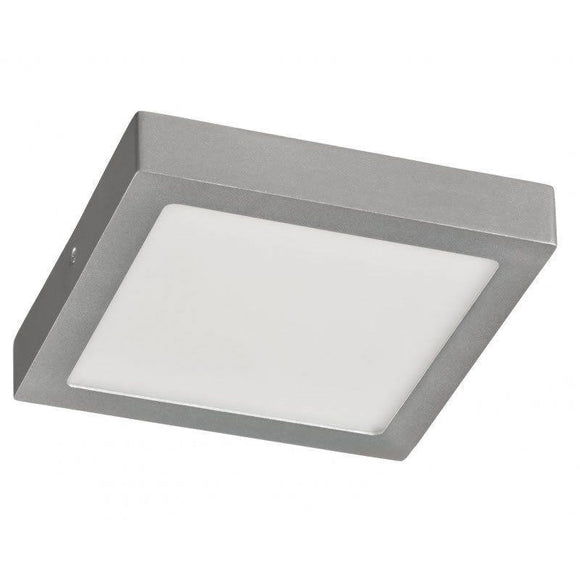 DOWNLIGHT SUPERFICIE CUADRADO - SUP-102407-NP - 7W - 4000ºK - PLATA- 540 LUMENES - 120X120X35 MM - JSVnet