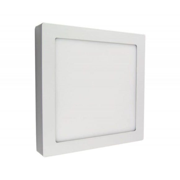 DOWNLIGHT EXTRAFINO SUPERFICIE CUADRADO IGLUX SUP-102418-NB - 18W - 4000ºK - BLANCO - 2200 LUMENES - 220X220X35 MM - JSVnet
