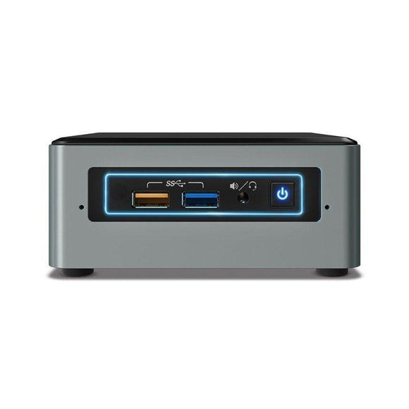 MINI PC INTEL NUC6CAYH - INTEL J3455 1.5GHZ - NO RAM - NO HDD - 4XUSB3.0 - HDMI/VGA - LAN - WIFI - BT4.0 - NO S.O. - PLATA/NEGRO - JSVnet
