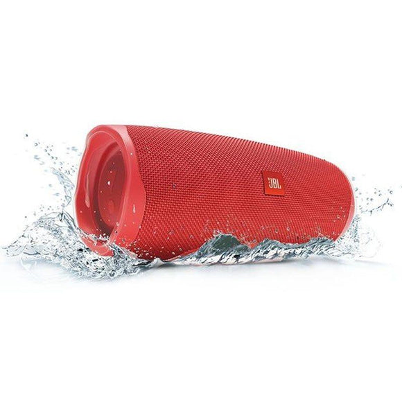ALTAVOZ BLUETOOTH JBL CHARGE 4 RED - 30W - IPX7 RESIST. AL AGUA - BAT. 7500MAH FUNCIÓN POWERBANK - FUNC. MANOS LIBRES - JSVnet
