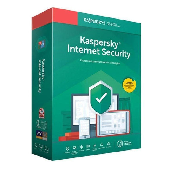 ANTIVIRUS KASPERSKY INTERNET SECURITY MULTIDEVICE 2019 - 5 DISPOSITIVOS/ 5 MÓVILES Y TABLETS ANDROID - NO CD - JSVnet
