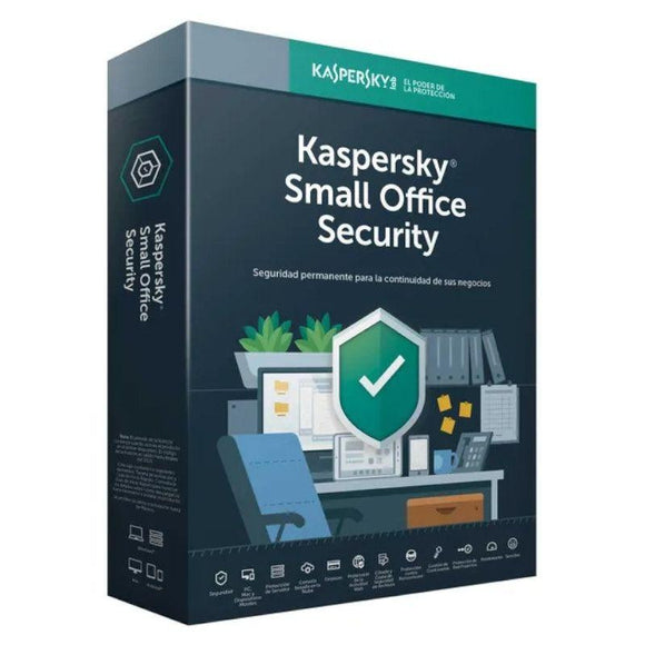ANTIVIRUS KASPERSKY SMALL OFFICE V6 - 10 DISPOSITIVOS + 1 SERVIDOR - JSVnet