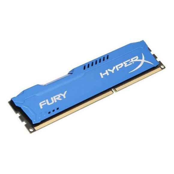 MEMORIA KINGSTON HYPERX FURY BLUE - 8GB DDR3 - 1600MHZ - LATENCIA CAS 10 - 240 CLAVIJAS DIMM - JSVnet