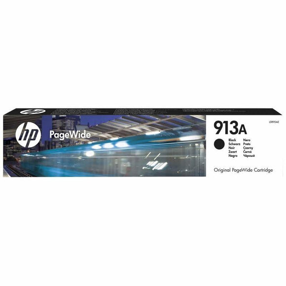 CARTUCHO NEGRO HP PAGEWIDE 913A - 3500 PÁGINAS - PARA PAGEWIDE PRO 452DW / 477DW / 377DW / 452DWT - JSVnet