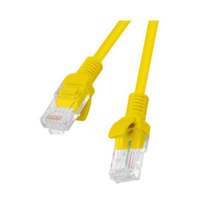 LATIGUILLO DE RED LANBERG PCU5-10CC-0100-Y - RJ45 - UTP - CAT 5E - 1M - AMARILLO - JSVnet