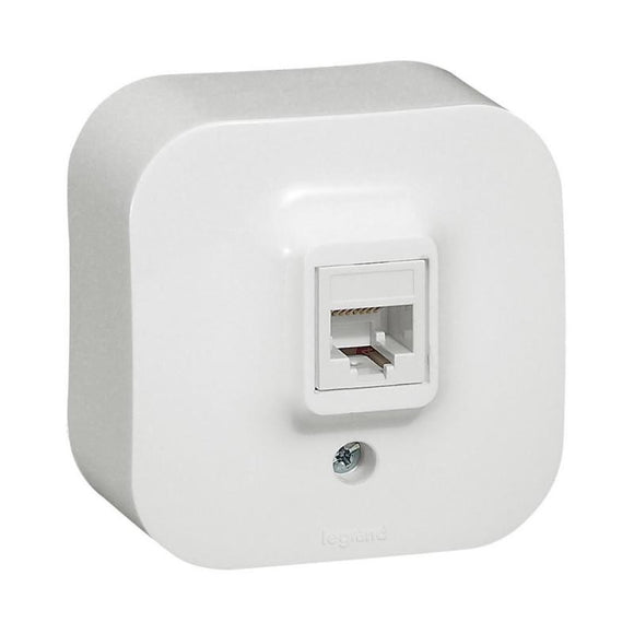 TOMA DE RED RJ45 LEGRAND FORIX 782424 - IP21 - BLANCO - JSVnet