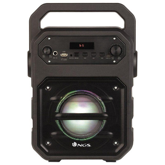 ALTAVOZ PORTÁTIL NGS ROLLER DRUM - 20W - BLUETOOTH - FM - USB/MICROSD/AUX IN - PANTALLA LED - BATERÍA 1200MAH - JSVnet
