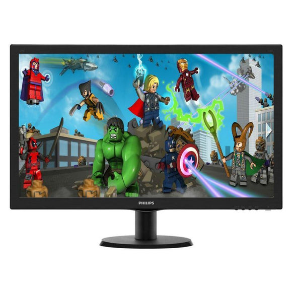 MONITOR PHILIPS 273V5LHSB - LED - 27'/68.6CM - FULLHD - 1920X1080 - SMART CONTROL LITE - 300 CD/M2 - 5MS - 10M:1 - VGA - HDMI - NEGRO - JSVnet