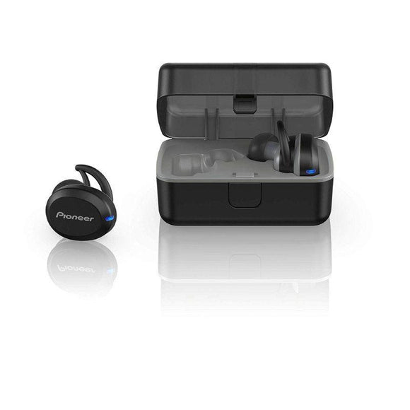 AURICULARES BLUETOOTH PIONEER IN-EAR TRULY WIRELESS SPORT  SE-E8TW-H - BT 4.2 - IPX5 - ESTUCHE DE CARGA - APP PIONEER PARA ANDROID - COLOR NEGRO - JSVnet