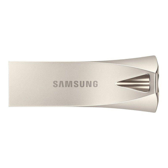 PENDRIVE SAMSUNG BAR PLUS SILVER 64GB - USB 3.1 - 200MB/S LECTURA - JSVnet