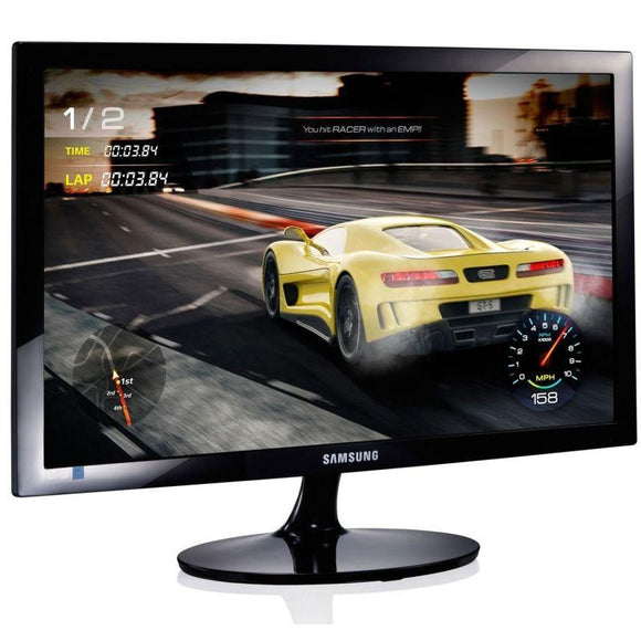 MONITOR LED SAMSUNG S24D330H - 24'/60.9CM TN - 1920X1080 - 16:9 - 1MS - 250CD/M2 - VGA - HDMI - NEGRO - JSVnet