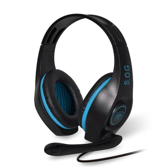 AURICULARES CON MICRÓFONO SPIRIT OF GAMER ELITE-H5 - DRIVERS 40MM - CONECTORES USB / RCA / JACK 3.5 - CABLE 3M - JSVnet