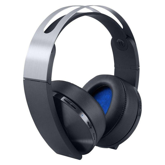 AURICULARES INALÁMBRICOS SONY PLATINUM - 7.1 VIRTUAL - AUDIO 3D - PLEGABLES - INCLUYE CONECTOR 3.5MM - COMPATIBLE PS4/PC/MAC & SMARTPHONES - JSVnet