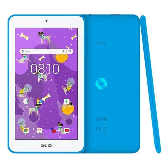 TABLET SPC LAIKA 7 AZUL - QC A35 1.3GHZ - 1GB DDR3 - 8GB - 7'/17.78CM IPS HD - CAM FRONTAL VIDEOLLAMADA - BT 4.0 - BAT 2500MAH - ANDROID 8.1 - JSVnet