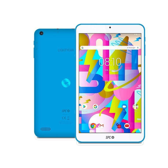 TABLET SPC LIGHTYEAR 8 AZUL - QC A35 1.3GHZ - 2GB DDR3 - 16GB - 8'/20.32CM IPS HD - CAM 2MPX- BT - MICRO SD - BAT 3500MAH - ANDROID 8.1 - JSVnet
