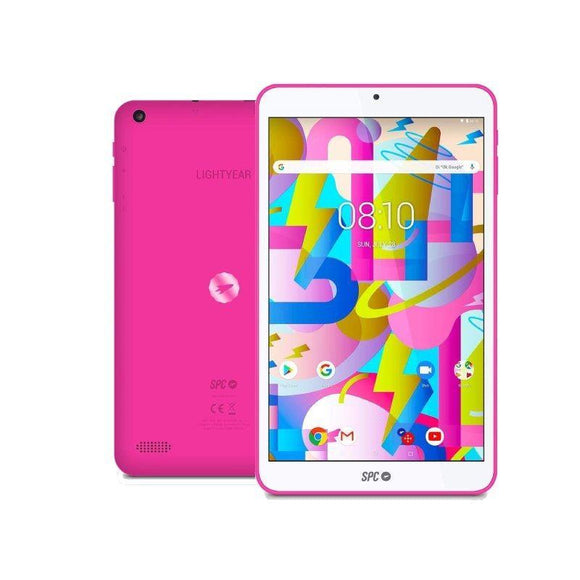 TABLET SPC LIGHTYEAR 8 ROSA - QC A35 1.3GHZ - 2GB DDR3 - 16GB - 8'/20.32CM IPS HD - CAM 2MPX- BT - MICRO SD - BAT 3500MAH - ANDROID 8.1 - JSVnet