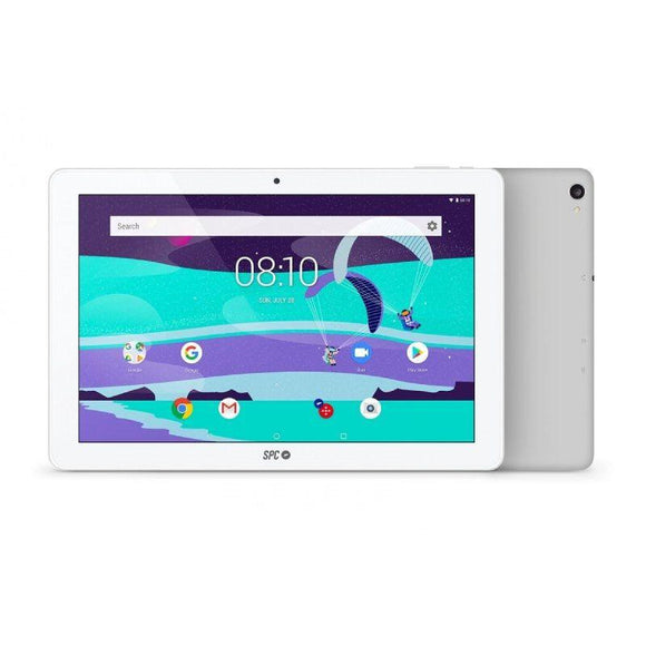 TABLET SPC GRAVITY MAX 10.1 BLANCA - QC A35 1.3GHZ - 2GB DDR3 - 16GB - 10.1'/25.65CM IPS HD - CAM 5MPX/2MPX - BT 4.0 - BAT 5800MAH - ANDROID 8.1 - JSVnet