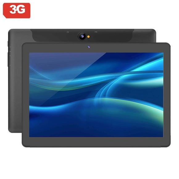 TABLET CON 3G SUNSTECH TAB1081 BLACK - QC 1.3GHZ - 2GB RAM - 32GB - 10.1'/25.6CM 1280*800 - ANDROID 8.1 - 2/5MPX - DUAL SIM - BAT 5000MAH - JSVnet